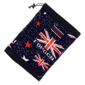 Cheap Wholesale Custom Logo Embroidery Winter Microfiber Polyester Flag Neck Gaiter