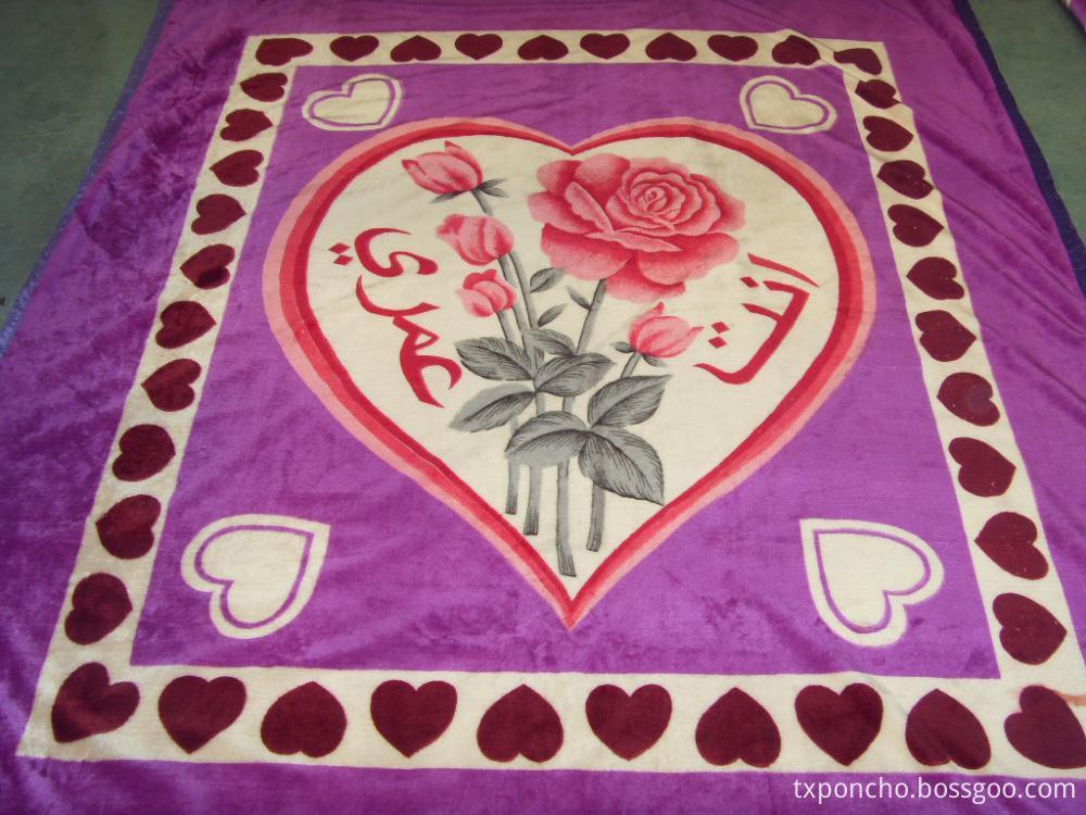 Flannel Adult blanket