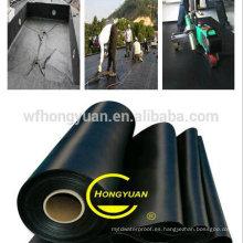 Membrana impermeable de EPDM / trazador de líneas de la piscina / trazador de líneas del estanque de goma / sótano / hoja impermeable del garaje (BS 6920)