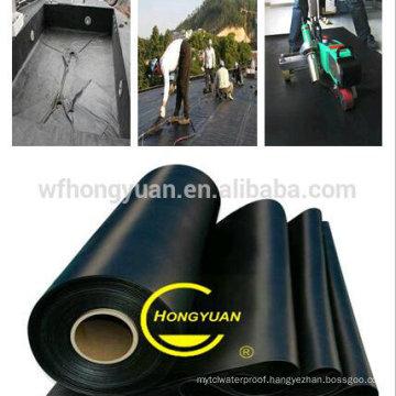 EPDM Waterproof Membrane/ Swimming Pool Liner/ Rubber Pond Liner/ Basement /Garage Waterproof Sheet (BS 6920)