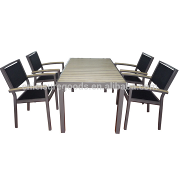Uplion MS5055 outdoor wholesale garden polywood furniture