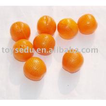Früchte und Gemüse - Plastik Orangen Obst