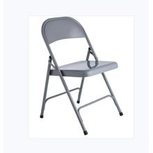 Chaise pliable en métal coloré