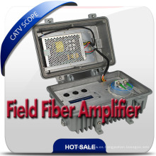 Campo al aire libre 1550nm Fiber Optical Booster, EDFA