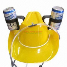 Sombrero de consumición del vaquero de encargo con la paja de beber para el día de fiesta de la cerveza del St Patrik