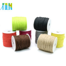 Decorative Hemp Cord and Sisal Thread for Bracelet and Necklace DIY, 1.5mm string ZYL0008