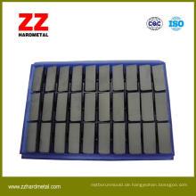 Hartmetall-Hartlöt-Einsätze