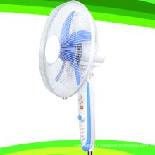 Ventilateur solaire de ventilateur de support de 12 lames de CC de 5 pouces de lame (SB-S5-DC16D)
