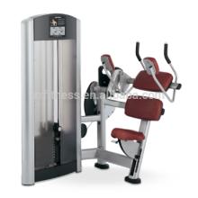 Nuevos productos de equipos de gimnasio Equipos de fitness de máquinas abdominales