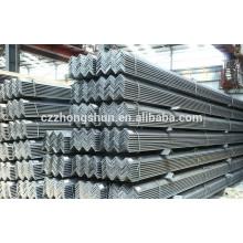 JIS G3101 SS400 Ângulos de aço estrutural / Ângulo de ferro iguais / desiguais