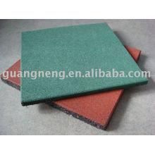 Rubber Gym Floor Tiles, Outdoor Playground Rubber Tiles, Rubber Gym Flooring
