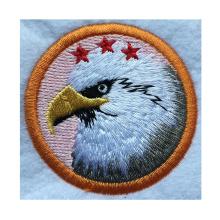 Орел на заказ вышитые моды прямых продаж профессионал
