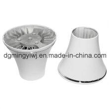 Fundición de aluminio para piezas de LED con recubrimiento en polvo Made by Mingyi Company