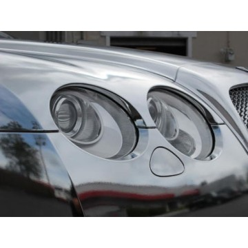 Autocollants De Voiture Chrome Vinyl Wrap Chrome Mirror Film