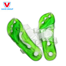 Paquete de calor suave del deslizador del cojín de calor del material del PVC para la relajación del pie