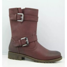 Two Buckle Lady Ankle Boots (S 28-5)
