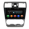 Deckless Android Car DVD voor Subaru Forester 2017
