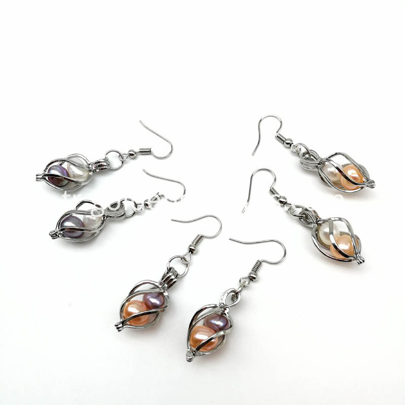 Pearl Oyster Earring Jewelry
