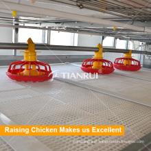 Sistema de gaiola de galinha alimentador automático de frango para aves de capoeira