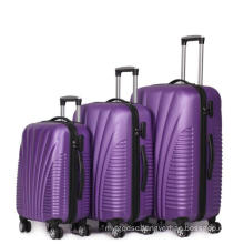 ABS Spinner Wheels Aluminum Suitcase