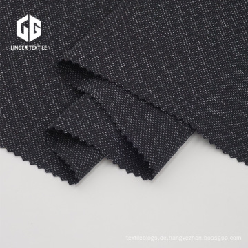 Speckle Design Gewirke Garngefärbtes Gewebe