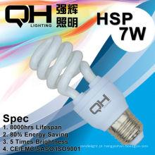Lâmpada/CFL lâmpada 7W 2700K/6500K E27/B22 de poupança de energia