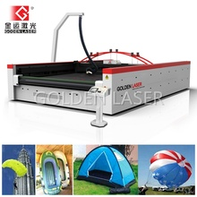 Large Laser Cutting Machine for Parachute Fabric