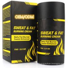 OEM/ODM Sweat & Fat Workout Enhancer Gel Anti Cellulite Burning Slimming Cream