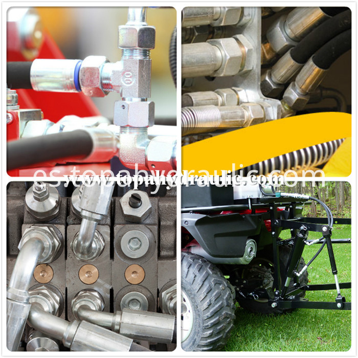 Parker tractor hydraulic hoses and fittings