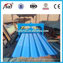 Máquina formadora de rolo de telhado ondulado de alta qualidade PRO de alta velocidade