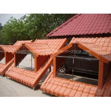 Façon appropriée d'installer le panneau de toit en résine synthétique