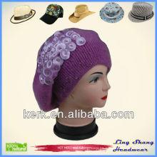 Bastante Angora y sombrero de lana, LSA45