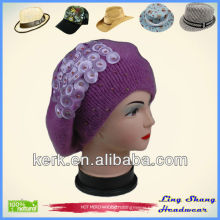 Pretty Angora and Wool Hat, LSA45