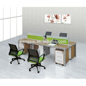 new model customized modern office workstation for 4 persons