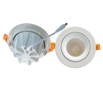 Nuevo diseño 90lm / W 7W / 10W / 15W ajustable COB Down Light LED Downlight con 3 años de garantía