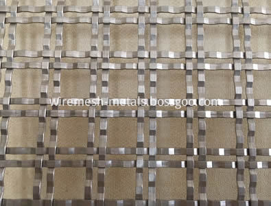 double-flat-crimped-grill-mesh