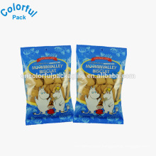 Custom delicious cookie packaging sealable plastic cookie bags