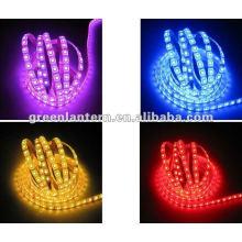 Cambio de color impermeable SMD5050 led luz de la cinta