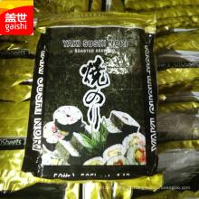frutos do mar alga nori