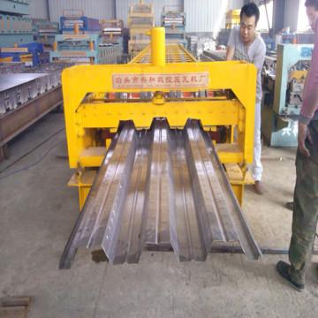 Galvanisé tôle plancher Deck Roll formant la Machine