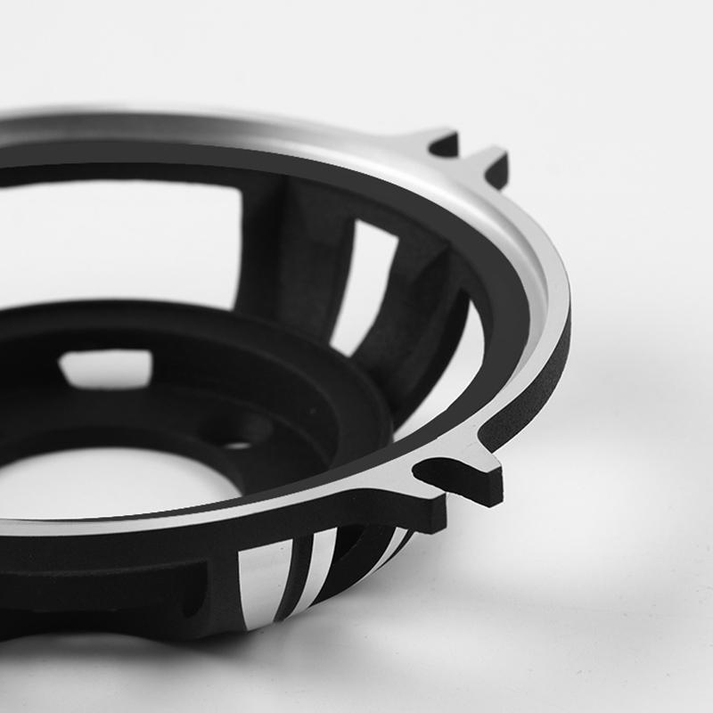 4 Inch Horn Aluminum Frame