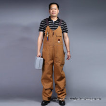 100 % coton Zip frontal manches longues sécurité Bip et uniforme Brace (BLY4002)