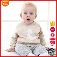 La nueva manera de la llegada 2016 hizo punto al bebé del suéter de las lanas