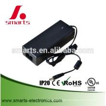 tipo de voltaje constante CE UL universal 24 v 120 w adaptador de corriente