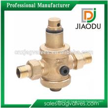Yuhuan indústria de baixo preço personalizado forjado npt latão macho roscado válvula de alívio de pressão para aquecedores solares de água