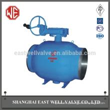 Empresas de aço na China válvula de esfera totalmente soldada