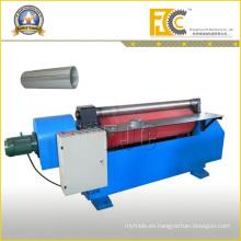 Hidráulica de dos rodillos de acero Drum Machining Coiler Machine