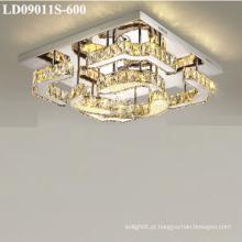 gota de cristal conduzida interna das luzes para o candelabro
