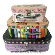 Fancy Printing Paper Suitcase for Gift Packing