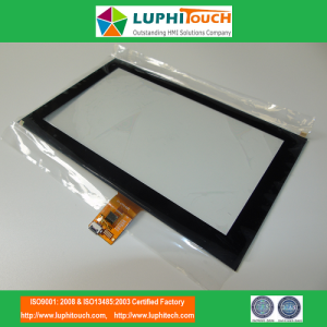 "Touch IC Embeded 8 ""G + G Capacitive Touch Screen"